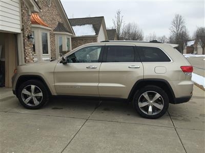 2014 Jeep Grand Cherokee lease in Shelby Township,MI - Swapalease.com