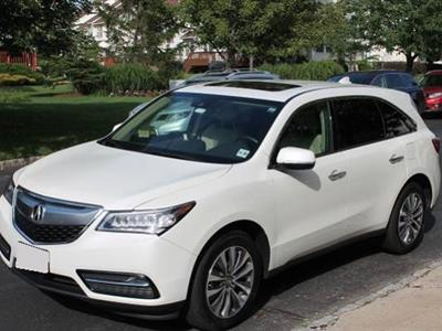 2016 Acura MDX lease in north brunswick,NJ - Swapalease.com