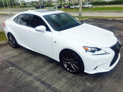 2016 Lexus IS 200t F Sport lease in Hollandale,FL - Swapalease.com