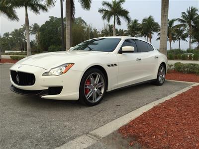 2014 Maserati Quattroporte lease in naples,FL - Swapalease.com