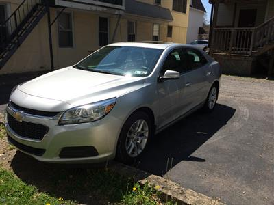 2015 Chevrolet Malibu lease in Kingston,PA - Swapalease.com