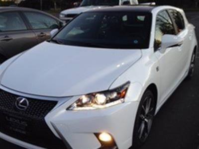2016 Lexus CT 200h lease in Seattle,WA - Swapalease.com