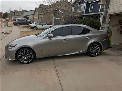 2015 Lexus IS 250 F Sport lease in Colorado Springs,CO - Swapalease.com