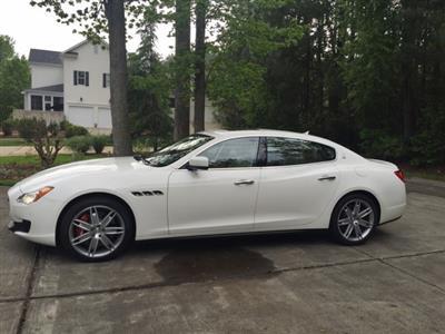 2014 Maserati Quattroporte lease in Raleigh,NC - Swapalease.com