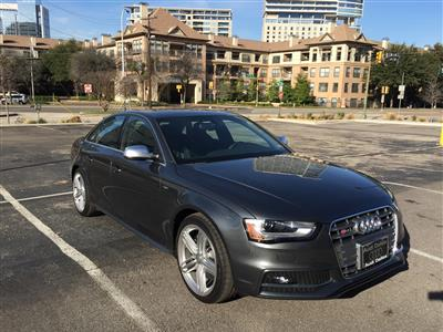 2015 Audi S4 lease in Washington,DC - Swapalease.com