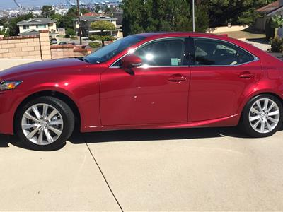 2015 Lexus IS 250 lease in Rancho Palos Verdes,CA - Swapalease.com