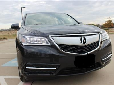 2016 Acura MDX lease in Fort Worth,TX - Swapalease.com