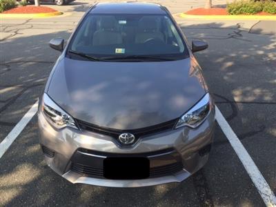 2015 Toyota Corolla lease in Mclean,VA - Swapalease.com