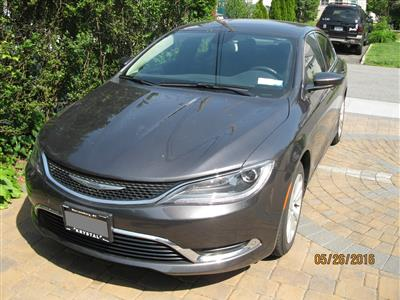 2015 Chrysler 200 lease in Bronx,NY - Swapalease.com