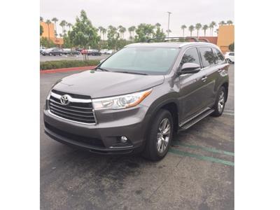 2015 Toyota Highlander lease in Irvine,CA - Swapalease.com