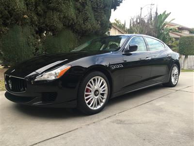 2014 Maserati Quattroporte lease in La Habra,CA - Swapalease.com