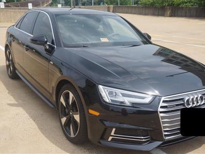 2017 Audi A4 lease in Fairfax,VA - Swapalease.com