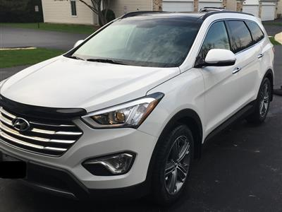 2016 Hyundai Santa Fe lease in Streamwood,IL - Swapalease.com