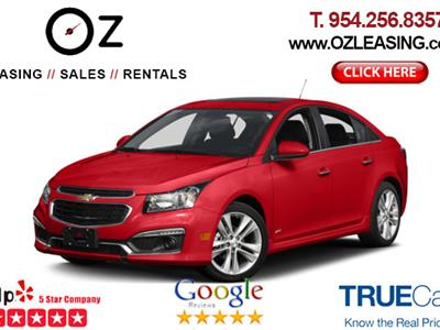 2016 Chevrolet Cruze lease in Hollywood,FL - Swapalease.com