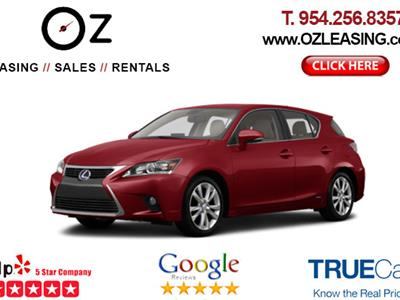 2017 Lexus CT 200h lease in Hollywood,FL - Swapalease.com