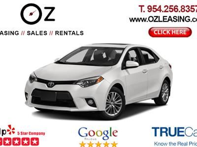 2016 Toyota Corolla lease in Hollywood,FL - Swapalease.com