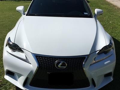 2014 Lexus IS 250 F Sport lease in Gainesville,TX - Swapalease.com
