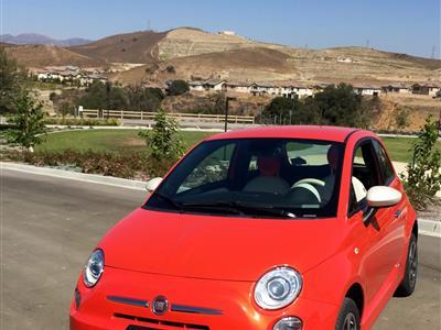 2014 Fiat 500e lease in Simi Valley,CA - Swapalease.com