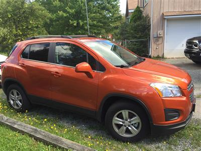 2016 Chevrolet Trax lease in Forestburgh,NY - Swapalease.com