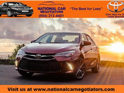 2016 Toyota Camry lease in Ft. Lauderdale,FL - Swapalease.com