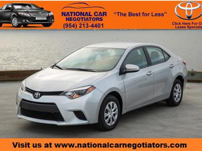 2016 Toyota Corolla lease in Ft. Lauderdale,FL - Swapalease.com