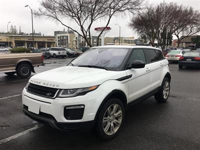 2016 Land Rover Range Rover Evoque lease in San,CA - Swapalease.com