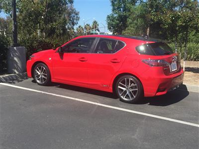 2015 Lexus CT200h F Sport lease in San Marcos,CA - Swapalease.com