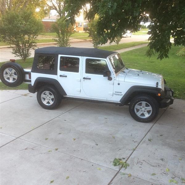 2015 Jeep Wrangler Unlimited Lease In Warren, MI