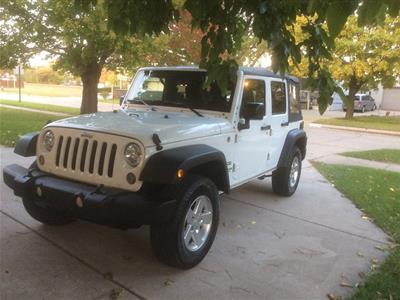 2015 Jeep Wrangler Unlimited lease in Warren,MI - Swapalease.com