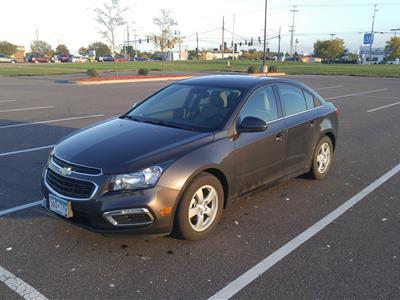 2016 Chevrolet Cruze lease in West Saint Paul,MN - Swapalease.com