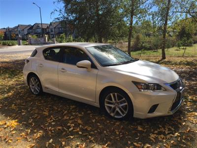 2016 Lexus CT 200h lease in Wilsonville,OR - Swapalease.com