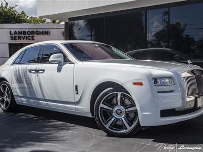 2014 Rolls-Royce Ghost lease in Miami Beach,FL - Swapalease.com