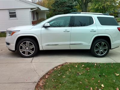 2017 GMC Acadia lease in bluffton,IN - Swapalease.com