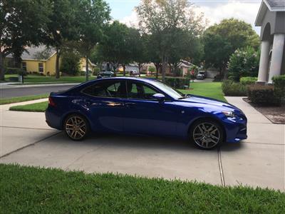 2016 Lexus IS 200t F Sport lease in Lake Mary,FL - Swapalease.com
