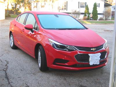 2016 Chevrolet Cruze lease in Bristol,WI - Swapalease.com