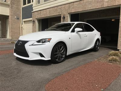2016 Lexus IS 200t F Sport lease in Vernon Hills,IL - Swapalease.com