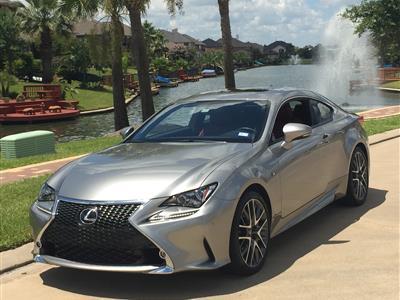 2015 Lexus RC 350 F Sport lease in Cypress,TX - Swapalease.com