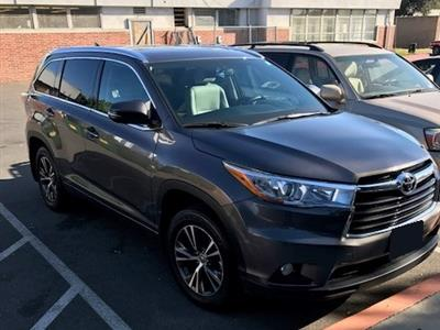 2016 Toyota Highlander lease in Long Beach,CA - Swapalease.com