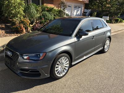 2016 Audi A3 Sportback e-tron lease in los angeles,CA - Swapalease.com
