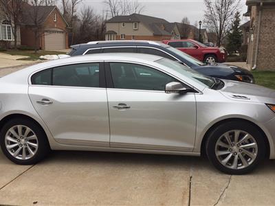 2016 Buick LaCrosse lease in Warren,MI - Swapalease.com