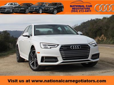 2017 Audi A4 lease in Ft. Lauderdale,FL - Swapalease.com