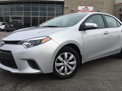 2016 Toyota Corolla lease in Cambridge,MA - Swapalease.com