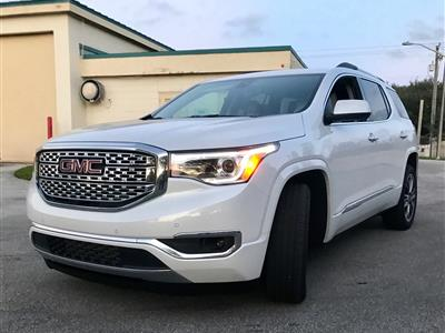 2017 GMC Acadia lease in Miami,FL - Swapalease.com