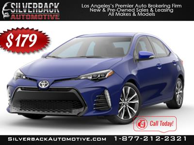 2017 Toyota Corolla lease in Burbank,CA - Swapalease.com