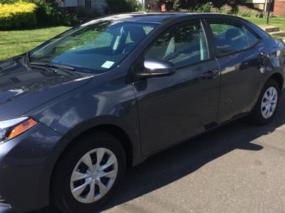 2016 Toyota Corolla lease in Newark,NJ - Swapalease.com