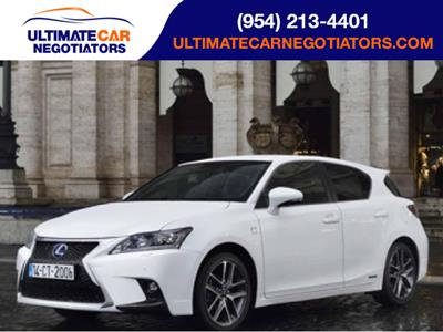 2017 Lexus CT 200h lease in Ft. Lauderdale,FL - Swapalease.com