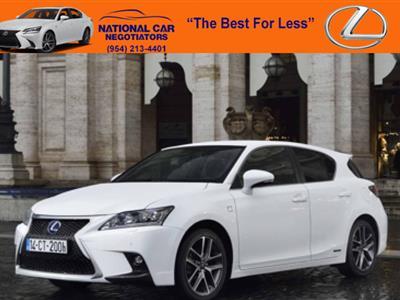 2017 Lexus CT 200h lease in Ft. Lauderdale,FL - Swapalease.com