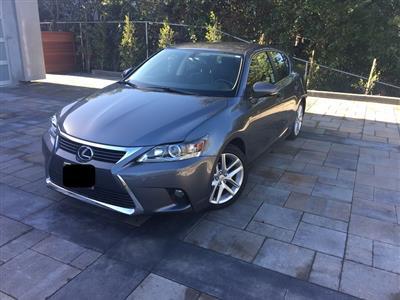2016 Lexus CT 200h lease in Fullerton ,CA - Swapalease.com