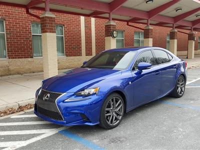 2016 Lexus IS 350 F Sport lease in Silver Spring,MD - Swapalease.com