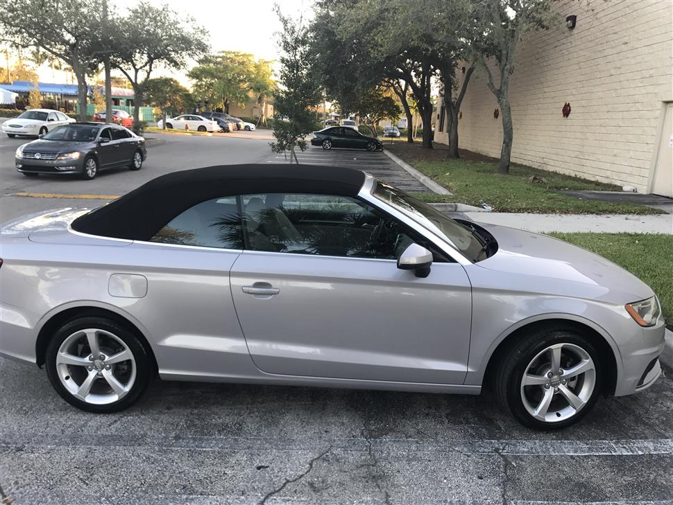 2016 audi a3 cabriolet lease in palm beach fl. Black Bedroom Furniture Sets. Home Design Ideas